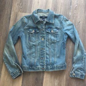 GAP Jeans Jean Denim Jacket Medium Wash
